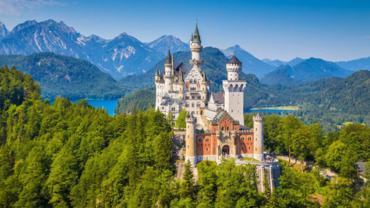 Sleeping Beauty Castle in Germany